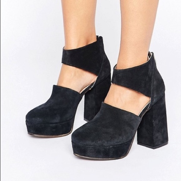 0bd0fa392c1 Free People Shoes - Free people Luxor platform heels